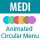 Medi - Animated Circular Menu