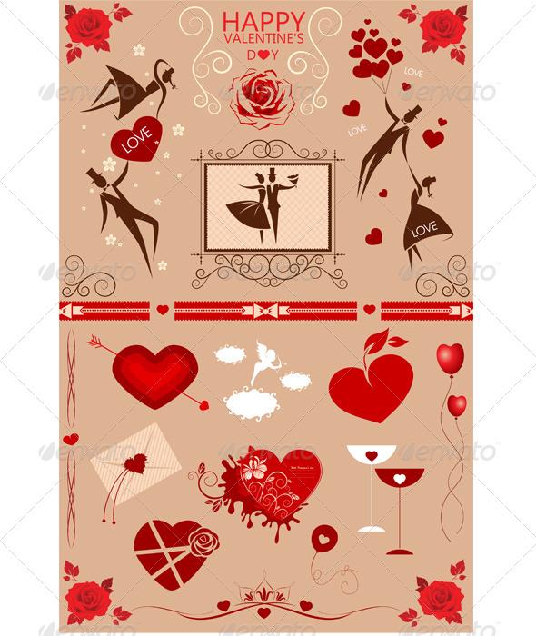 GraphicRiver Happy Valentine s Day 6608428