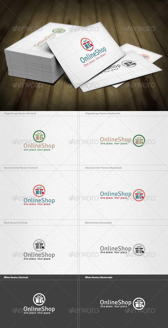 GraphicRiver Online Gift Shop Logo 6608439