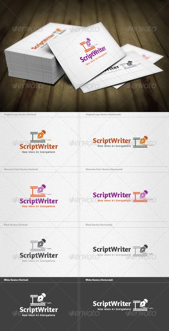 GraphicRiver Script Writer Logo 6608445