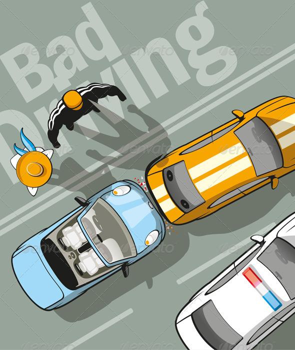 Bad Driving - Conceptual Vectors