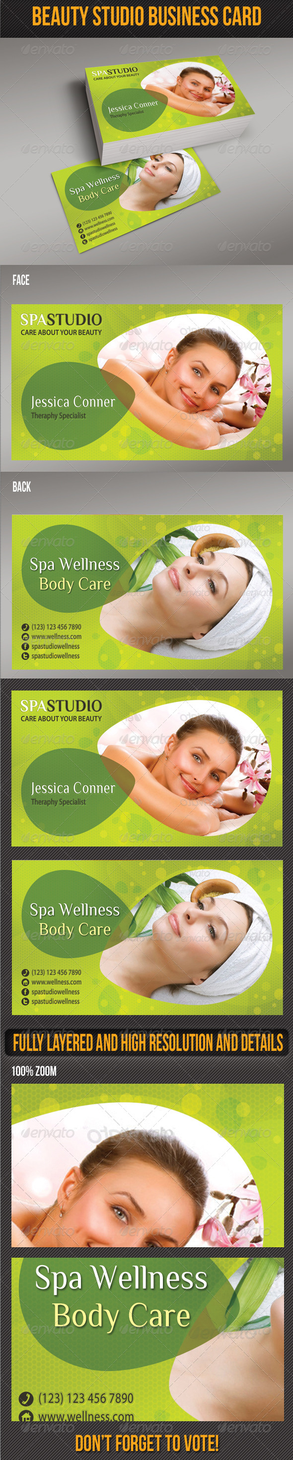 GraphicRiver Spa Studio Business Card 02 6608460