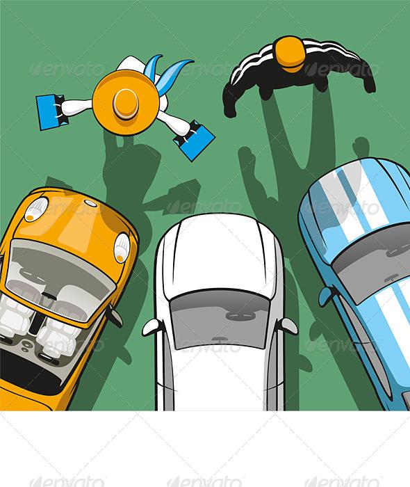 GraphicRiver Rent Car 6608607