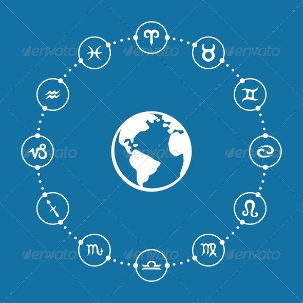 GraphicRiver Zodiac Infographic 6608637