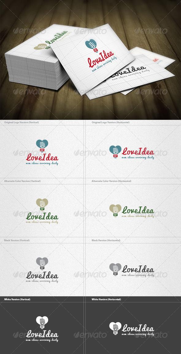 GraphicRiver Love Idea Logo 6608640