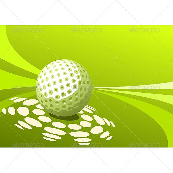 GraphicRiver Golf Ball 6609043