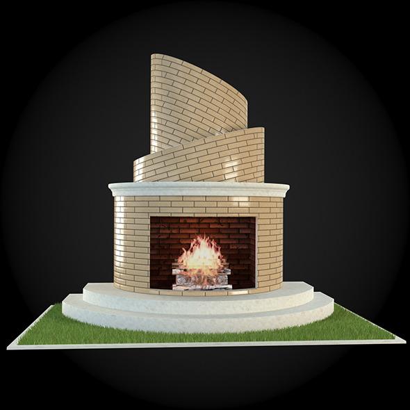 3DOcean Garden Fireplace 009 6609170