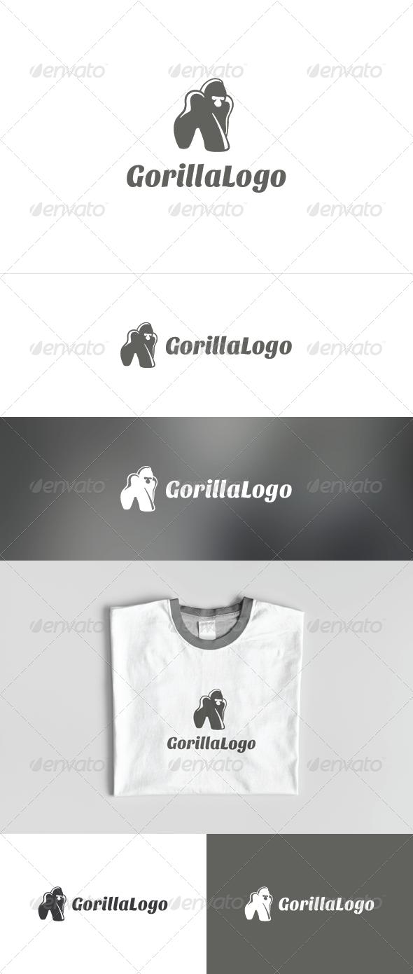 GraphicRiver Gorilla Logo 3509179