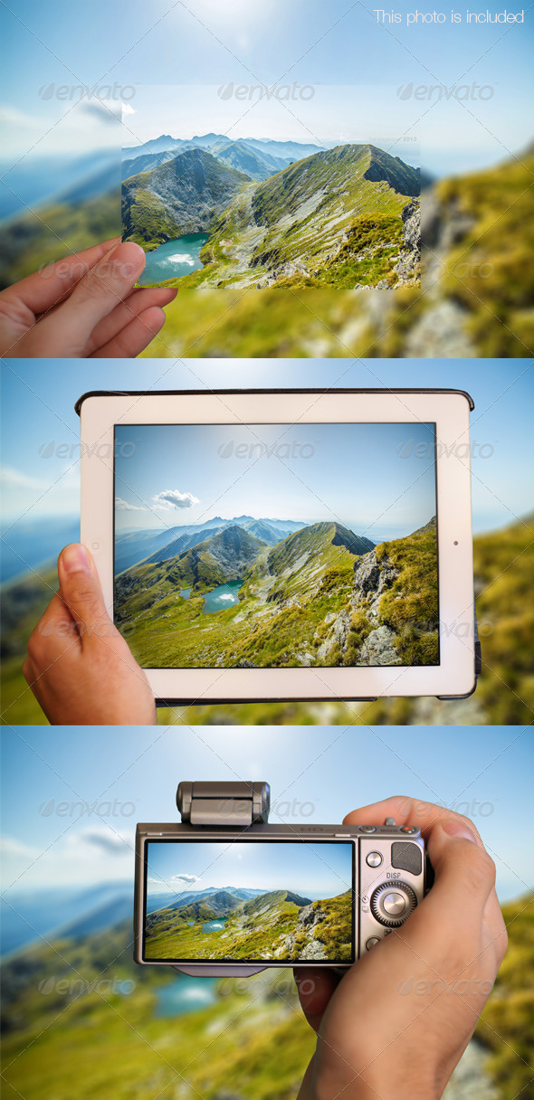 GraphicRiver Ultimate Photo Mock Up 6609444