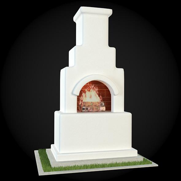 3DOcean Garden Fireplace 015 6609449