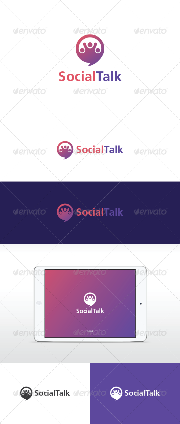 GraphicRiver Social Talk 6609703
