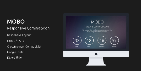 MOBO Coming Soon Template