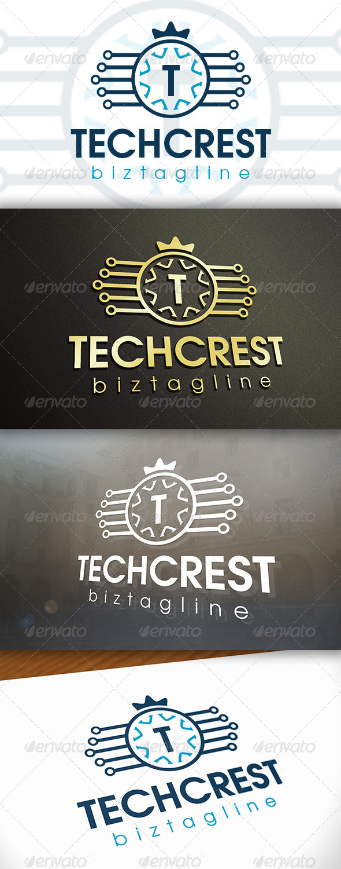 GraphicRiver Tech Crest Logo 6609897