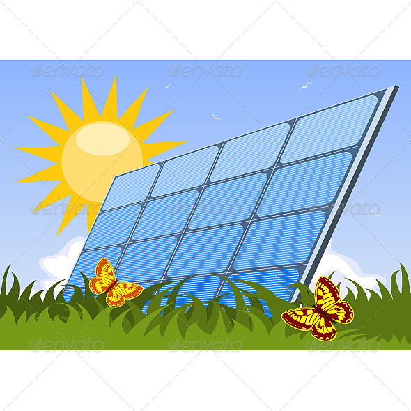 GraphicRiver Solar Panel 6610138