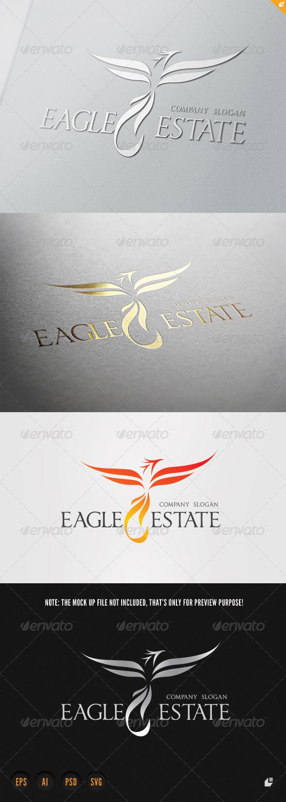 GraphicRiver Eagle Estate Logo 6610235