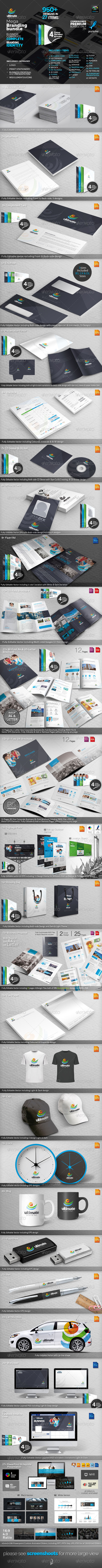 GraphicRiver Ultimate Mega Branding Pack 6552079