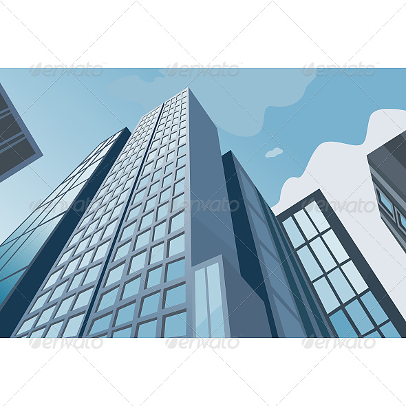GraphicRiver High Skyscrapers 6610397