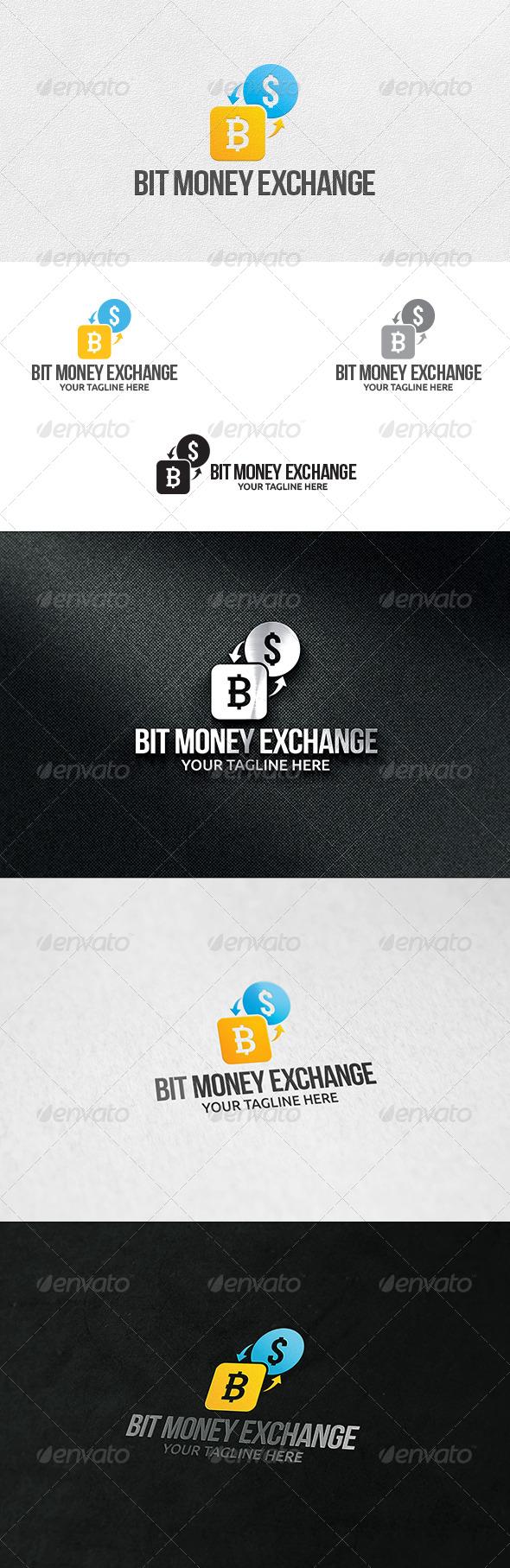 GraphicRiver Bit Money Exchange Logo Template 6610398