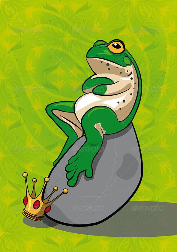 GraphicRiver Frog Mascot 6610440