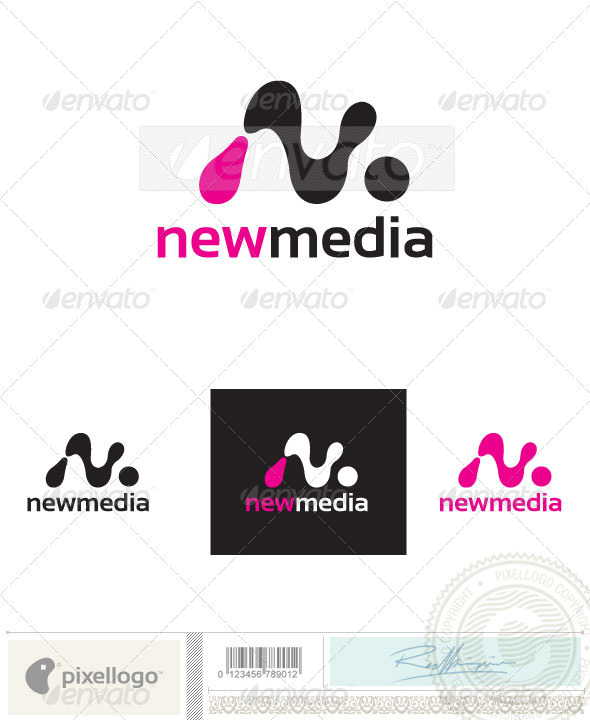 GraphicRiver Abstract N Logo-2395 693971