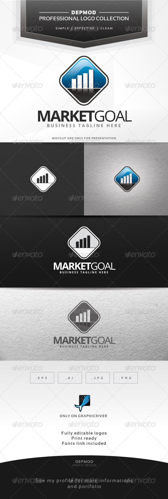GraphicRiver Market Goal Logo 6610578