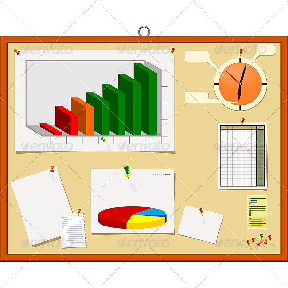 GraphicRiver Notice Board 6610604