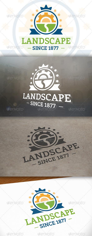 GraphicRiver Landscape Logo 6610855