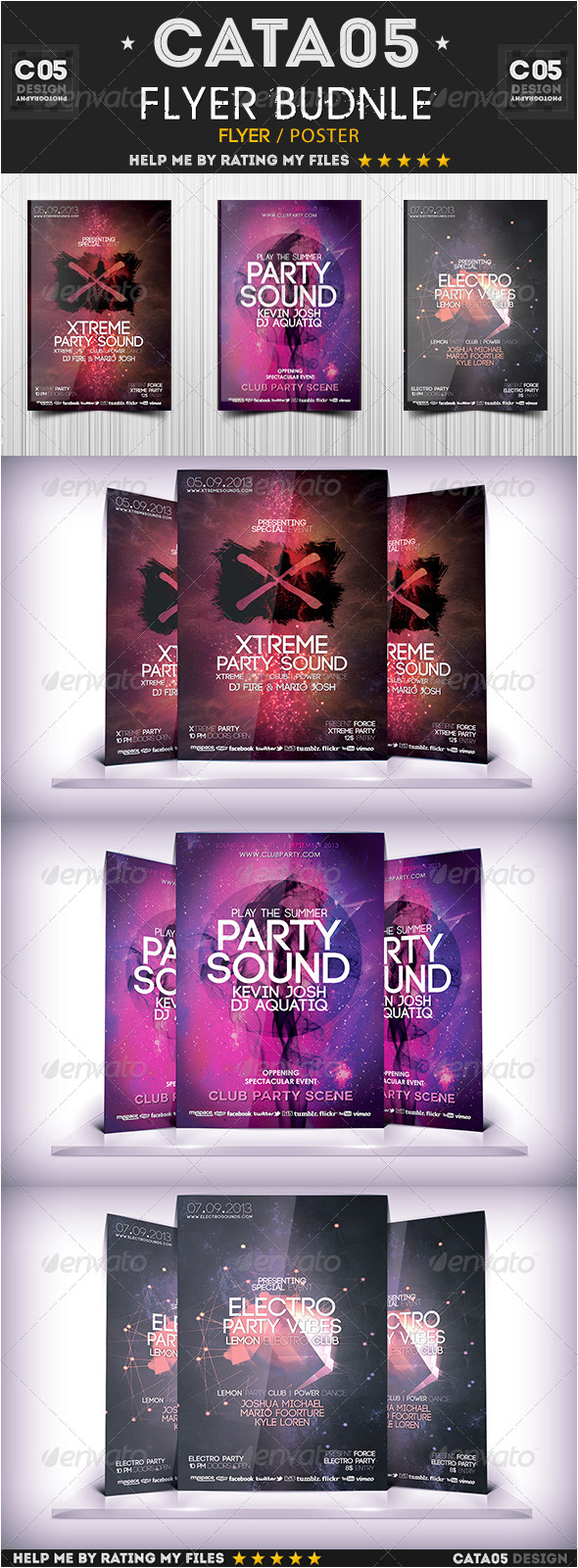 Flyer Bundle Pack 7