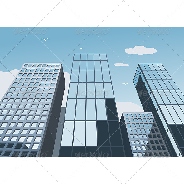GraphicRiver Skyscrapers 6610926