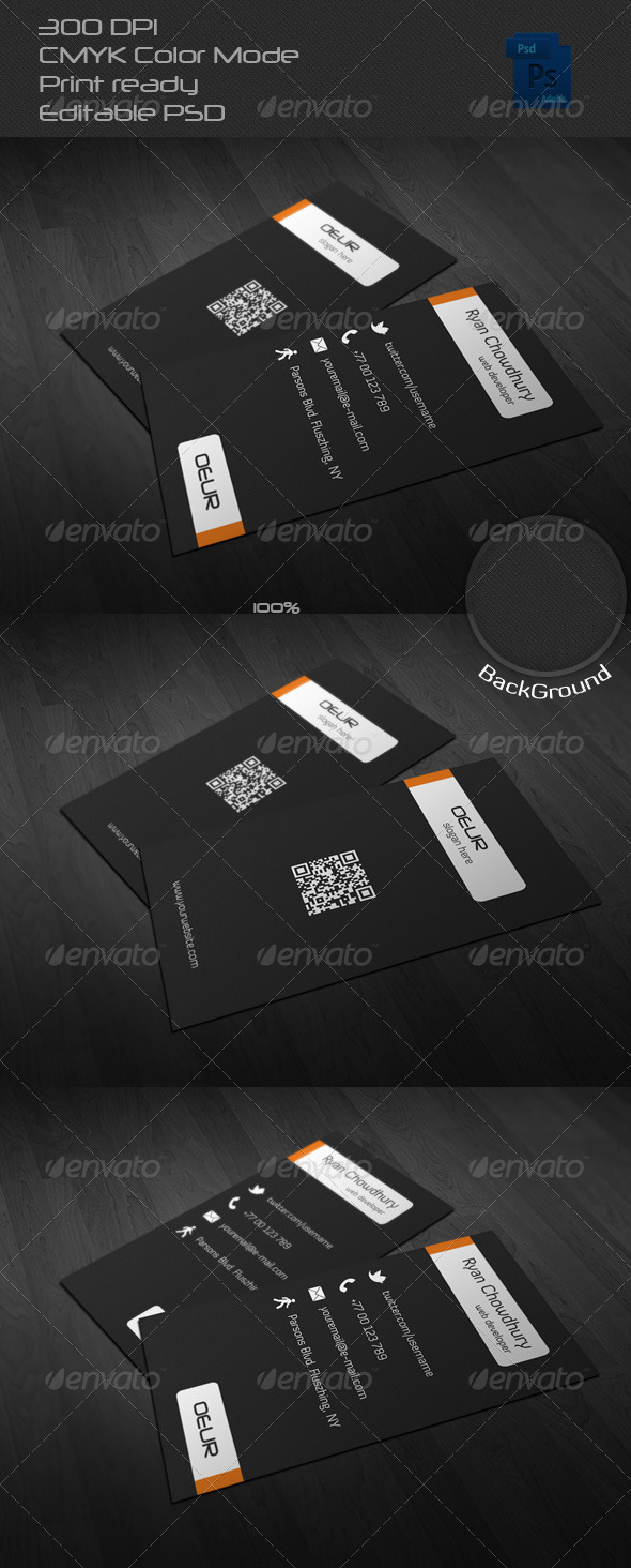 GraphicRiver Corporate Business Card 20 6604120
