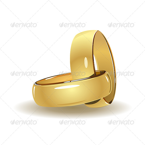 GraphicRiver Wedding Rings 6611093