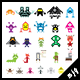Pixel Creatures - GraphicRiver Item for Sale