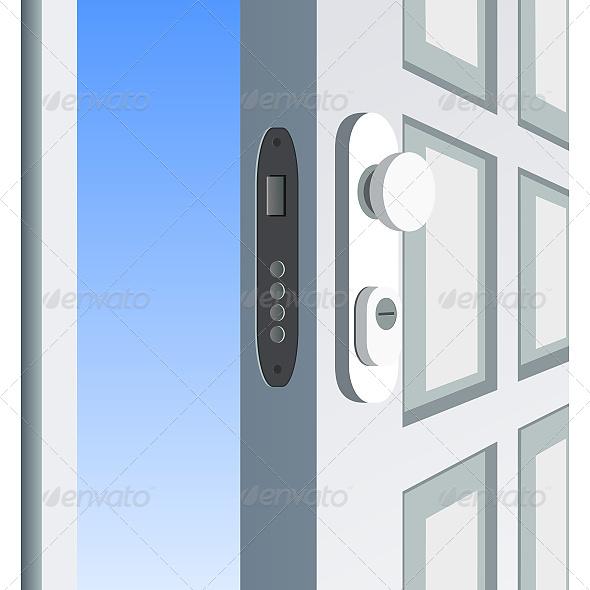 GraphicRiver Open Door Detail 6611269