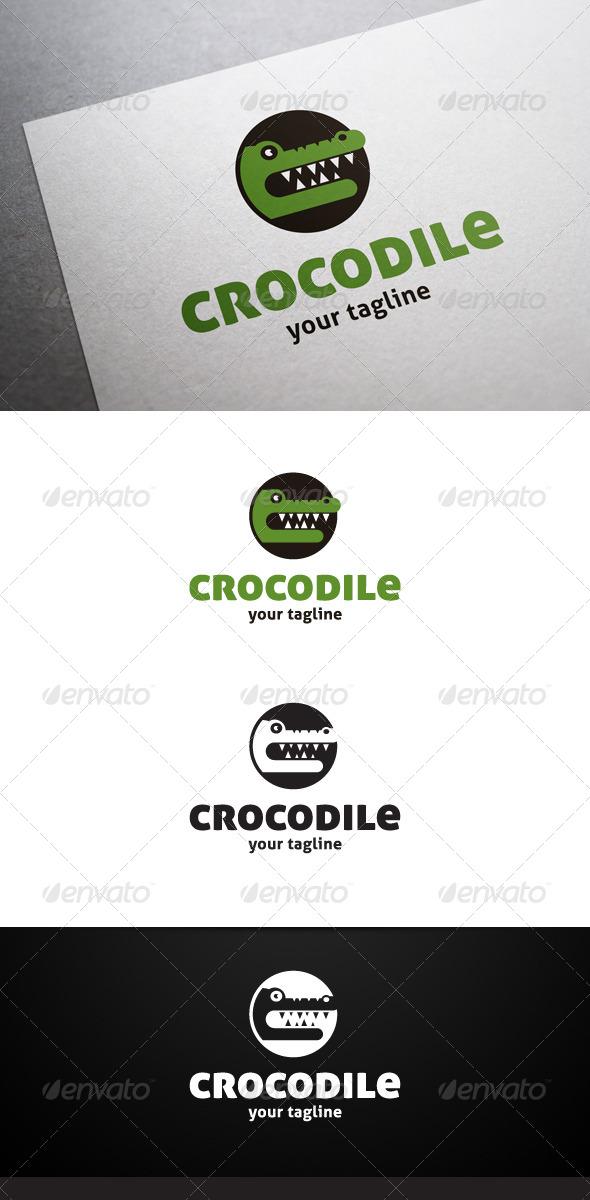 GraphicRiver Crocodile Logo 6611356