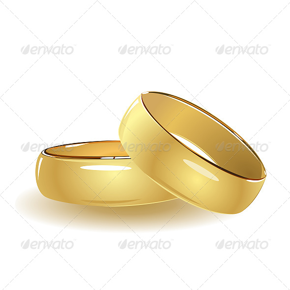 GraphicRiver Simple Wedding Rings 6611357