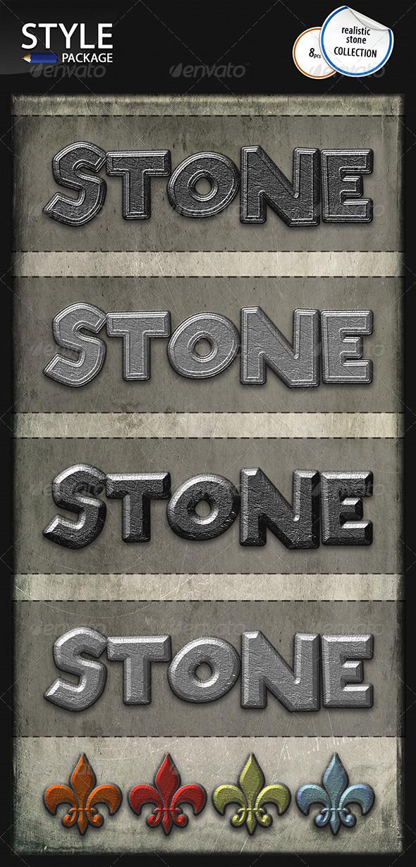 GraphicRiver Realistic Stone Styles 6612040
