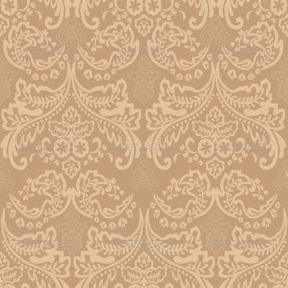 GraphicRiver Damask Vintage Floral Seamless Pattern 6612121