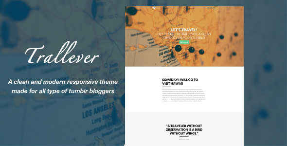 Trallever - Responsive Layout For Tumblr