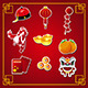 Chinese New Year Icons - GraphicRiver Item for Sale