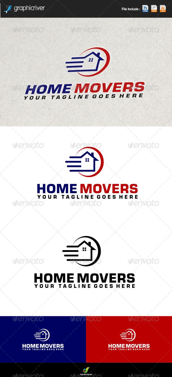 GraphicRiver Home Move Logo Template 6613087
