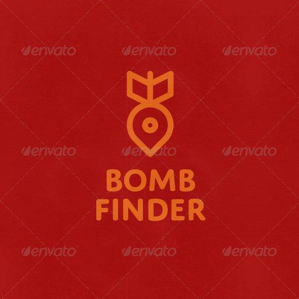 GraphicRiver Bomb Finder Logo 6613094