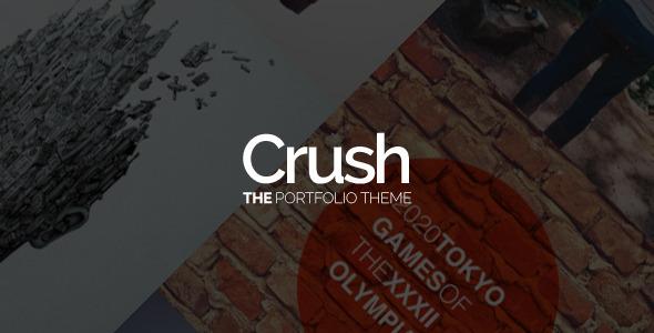 ThemeForest Crush The Portfolio Theme 6613145