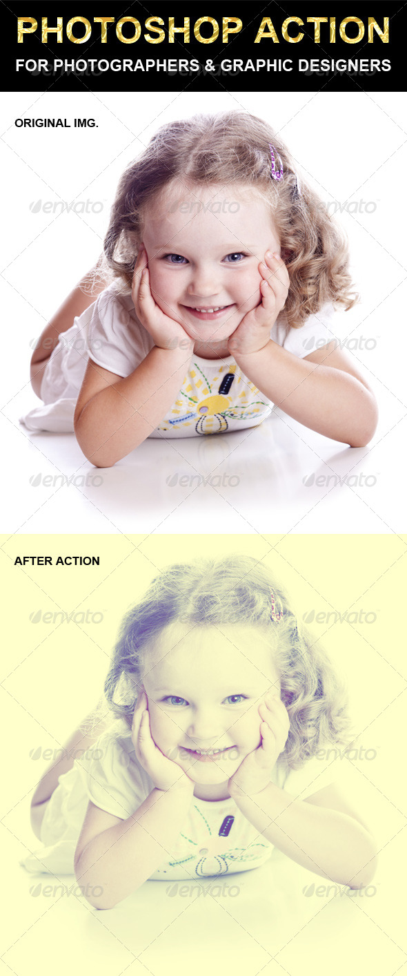 GraphicRiver Photoshop Action 6613488