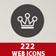 222 Web Icons