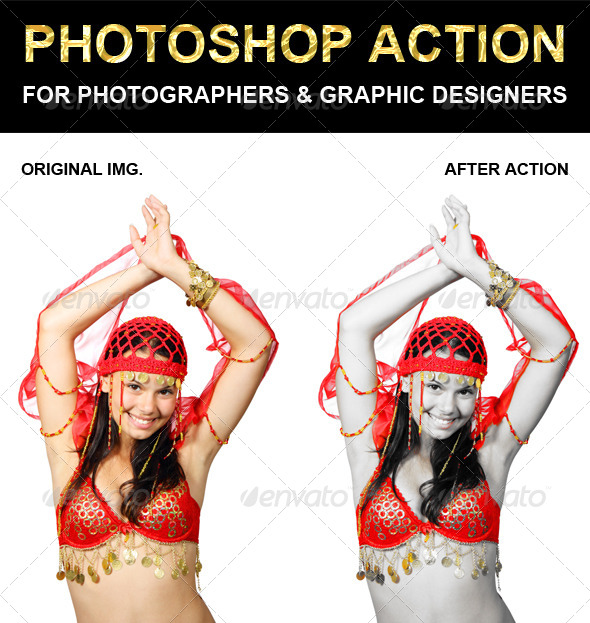 GraphicRiver Photoshop Action 6613520