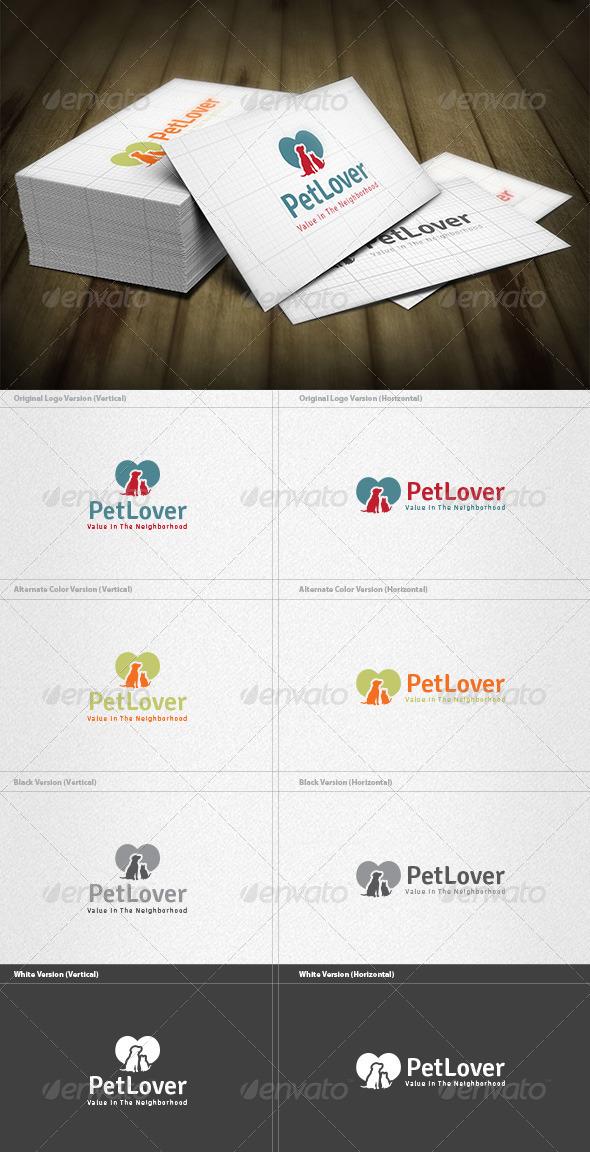 GraphicRiver Pet Lover Logo 6614091