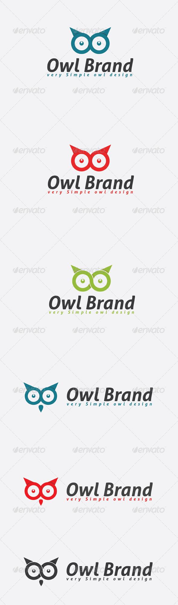 GraphicRiver Infinity Owl Logo 6614146
