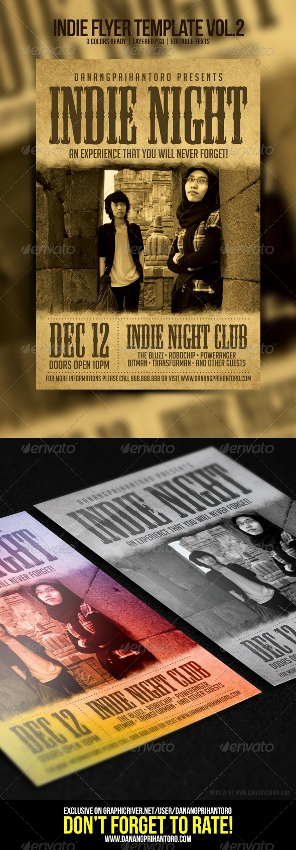 GraphicRiver Indie Flyer Template Vol 2 6614513