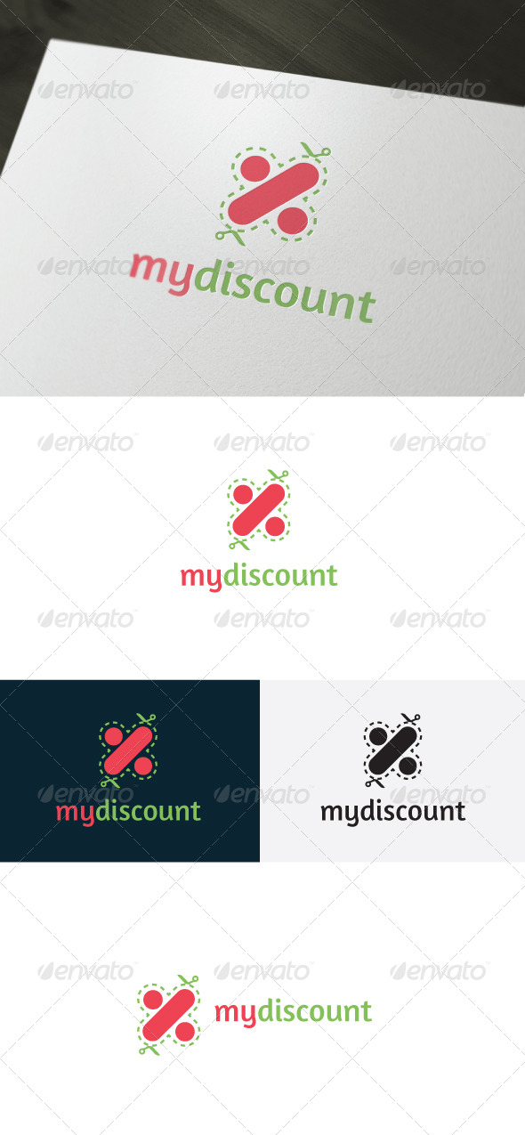 GraphicRiver My Discount Logo 6614603