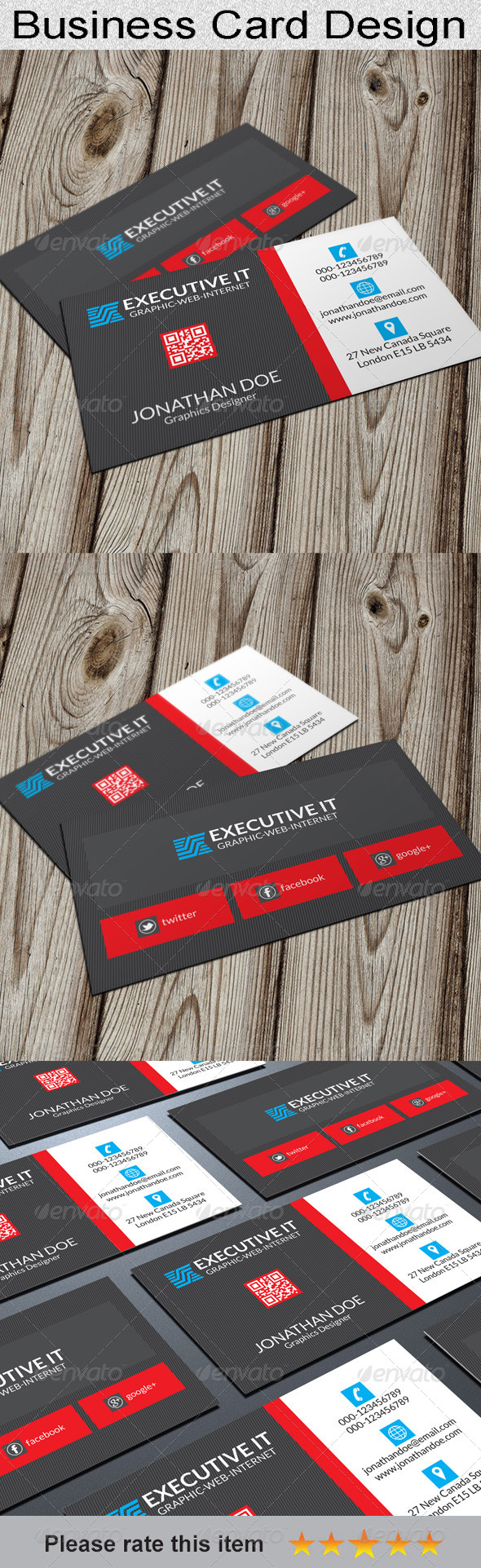 GraphicRiver Corporate Business Card 6614848